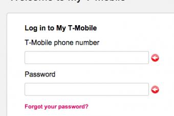 T-Mobileのアカウントが登録できない原因は