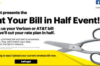 Sprintの半額セールは得難く失い易し