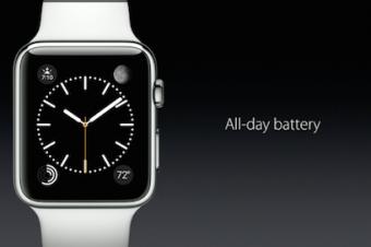 Apple Watchはバッテリーがアキレス腱