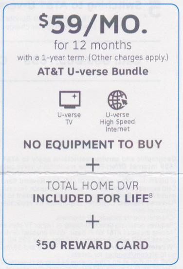 AT&TのDMより