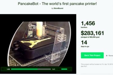 パンケーキを印刷する