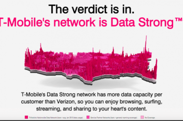 T-MobileがVerizonより優れていると宣伝