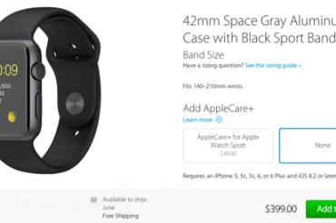Apple Watchは大きくて安いのがいい