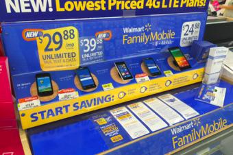 Walmart Family Mobileがデータ増量