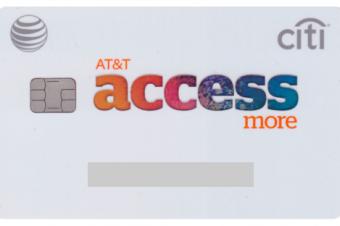 AT&Tのスマホが無料になるクレカが届いた
