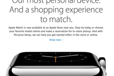 Apple Watchがやっと店頭販売を開始