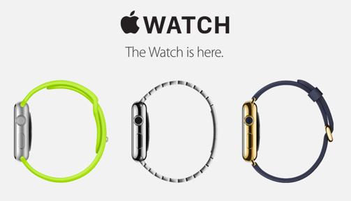 Apple Watchのホームページより