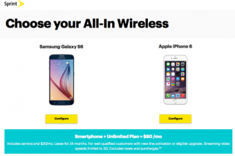 Sprintが込み込みの「All-In」プランを発表