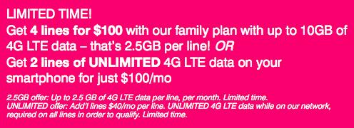 T-Mobileが人気の2プランを終了