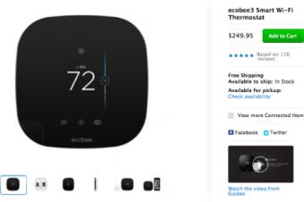 AppleがサーモスタットでNestに対抗