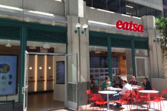 無人のロボットレストランがオープン