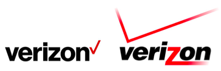 Verizonが新ブランド戦略導入に伴いロゴを変更