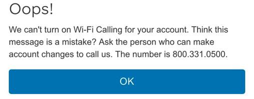 AT&TのWi-Fiコーリングが使えなかった話