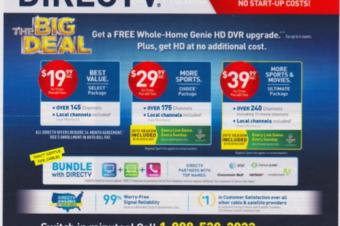 DirecTVがVerizonとまだ提携している