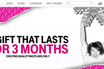 T-Mobileがギフト満載のホリデーセール