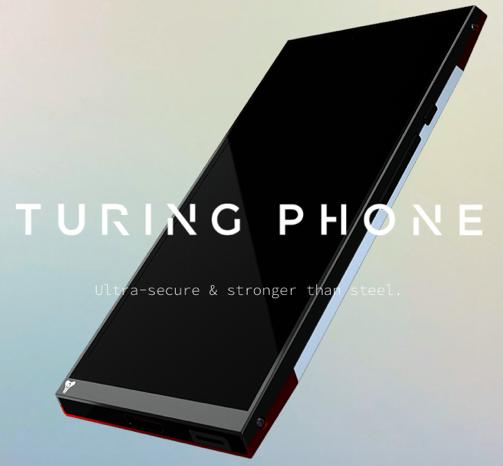 Turing Phoneのホームページより