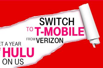 T-MobileからVerizon顧客へのホリデーギフト