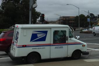 郵便屋さんの新サービス