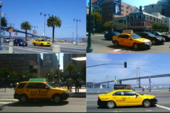 サンフランシスコのタクシーが存亡の機