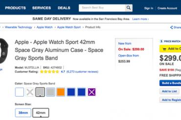 Apple Watchの値下げが相次ぐ
