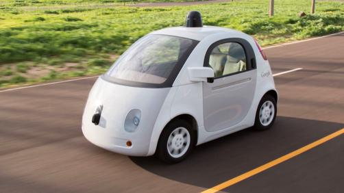 Googleの自動運転車(プロトタイプ車)(Googleのホームページより)