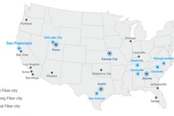 Google Fiberがサンフランシスコにやって来る