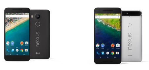 Nexus 5X(左)と6P(右)(Project Fiのホームページより)