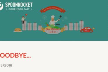 SpoonRocketが出前サービスを終了