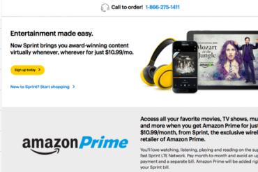 Amazonが月極めの「Prime」を開始