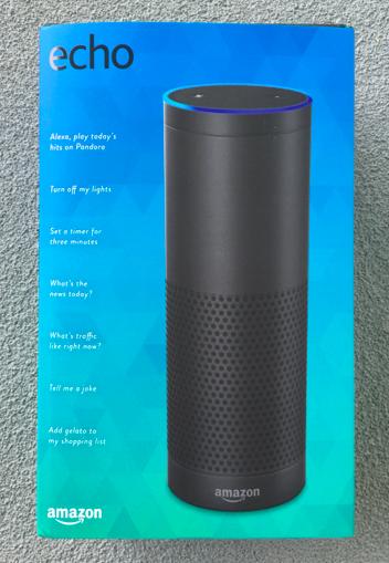 Amazon Echoの外箱