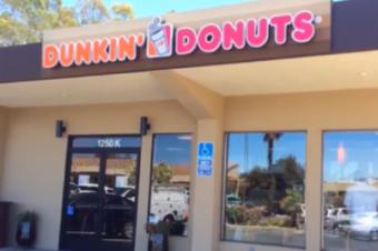 サンフランシスコ付近のDunkin' Donutsがオープン