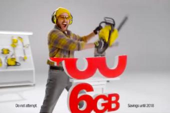 Sprintが「半額」広告を終了