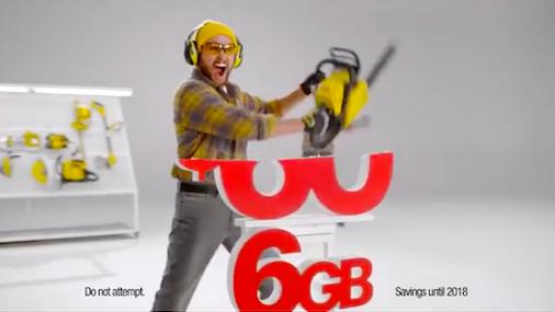 SprintのCM(YouTubeより)