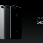 AppleのiPhone 7発表イベントの映像より