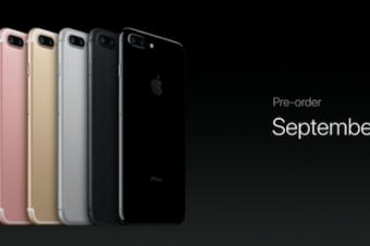 iPhone 7の予約が好調