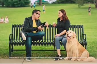 Verizon対T-Mobile/SprintのCM合戦