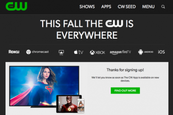 CWが思い切ったストリーミングを提供