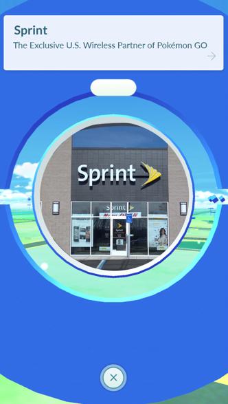 SprintがPokémon GOで集客