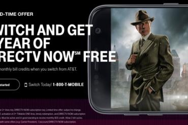 T-MobileがDirecTV Now無料のプロモーション