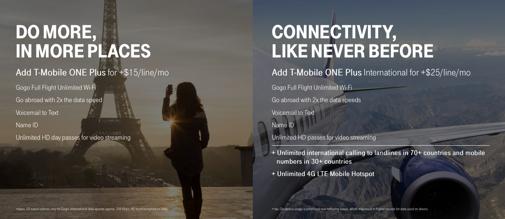 T-Mobileが無制限プランのアドオンを2種類に