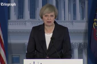 残念だった英首相のスピーチ