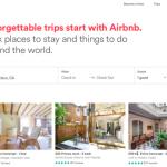Airbnbのホームページより