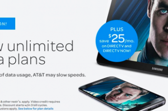 AT&Tが無制限プランを2種類に模様替え