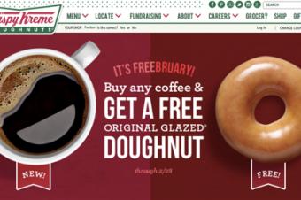 Krispy Kremeが「ドーナツに値するコーヒー」を提供