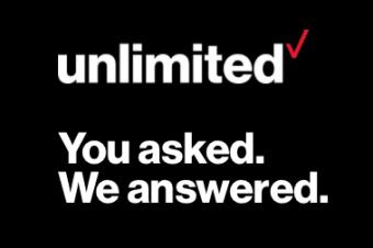 Verizonがデータ無制限プランを復活