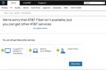 AT&T Fiberが提供地域を拡張したが