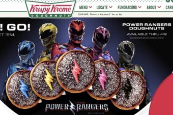 パワーレンジャーのドーナツが出た
