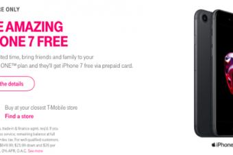 T-MobileがiPhone 7無料セールを早期終了