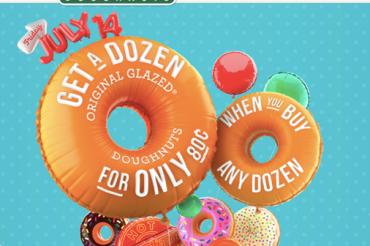Krispy Kremeの80周年を祝う