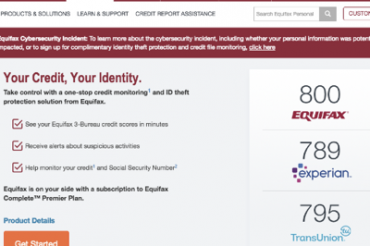 Equifaxの信用情報流出の件(その1)